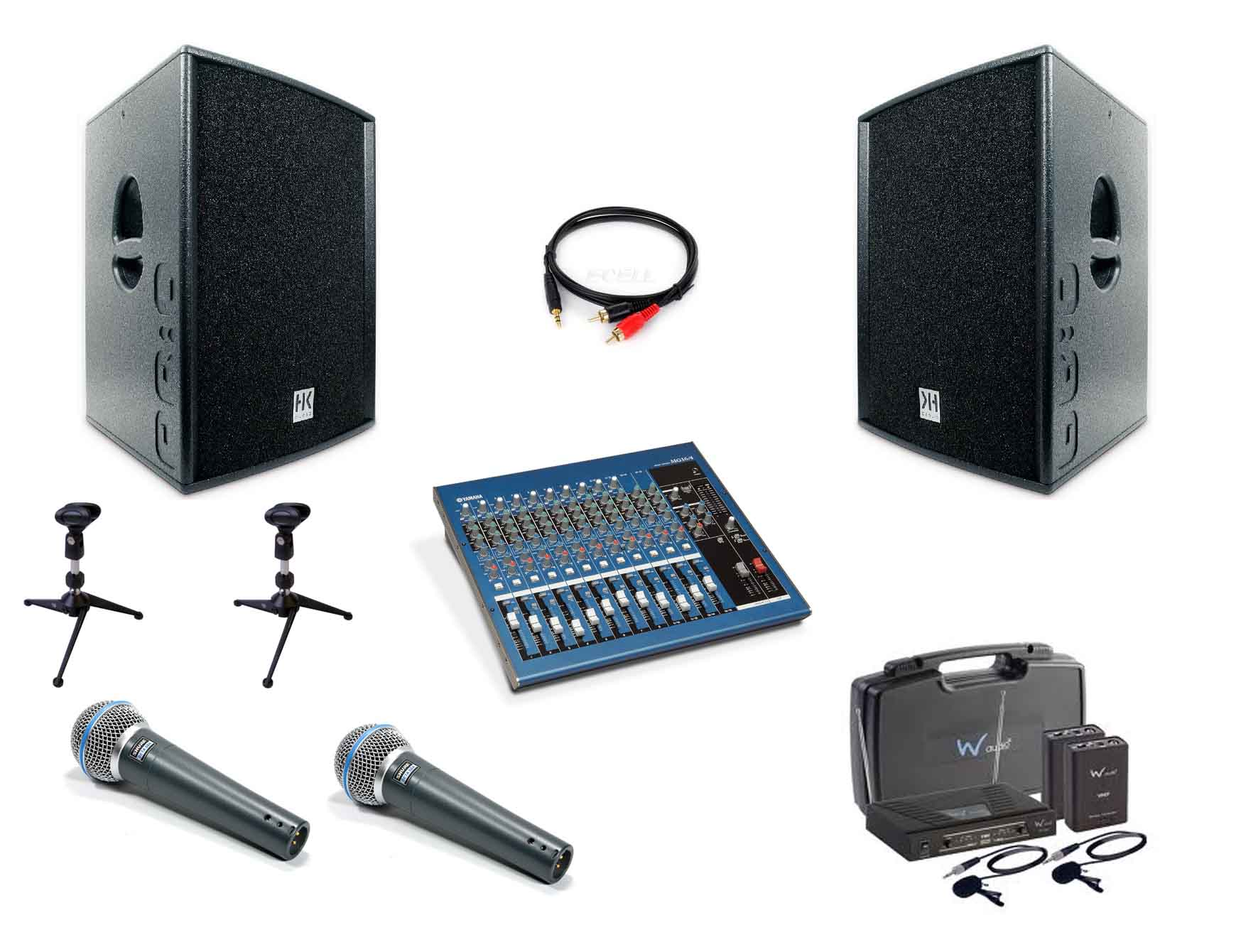 Sound System Hire | Humphries AV | Audio Visual Hire