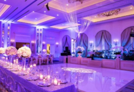 photo of a wedding in London, wedding production by HAV